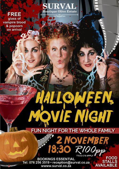 Surval Boutique Olive Estate - Halloween Movie Night
